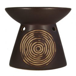 Almond Shaped Oil Burner