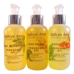Aromatherapy Massage Oils