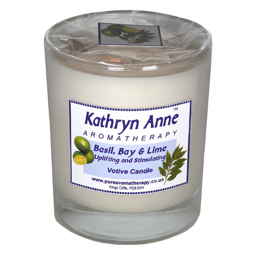 Basil, Bay & Lime Votive Candle