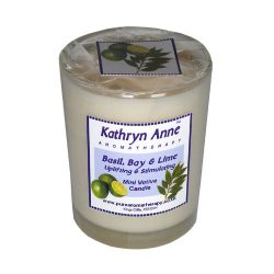 Basil, Bay & Lime Mini Votive Candle