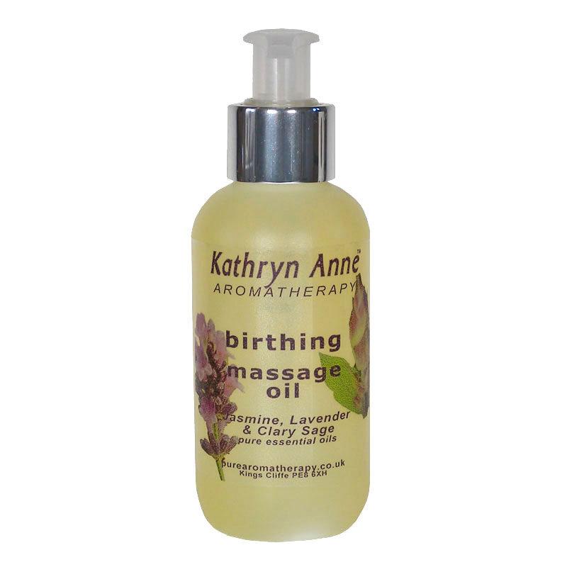 Birthing Aromatherapy Massage Oil