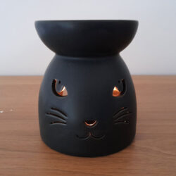 Black Cat Cutwork Burner Lit