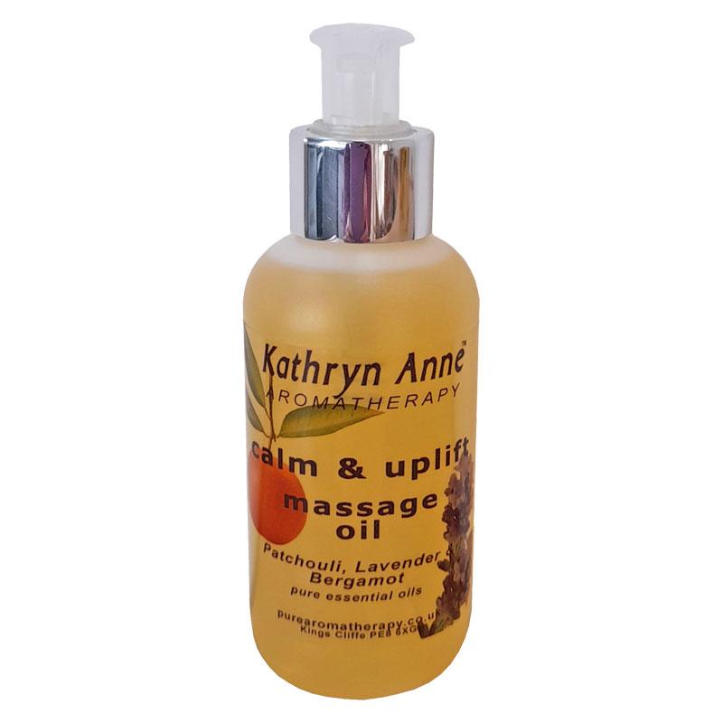 Calm & Uplift Massage Oil