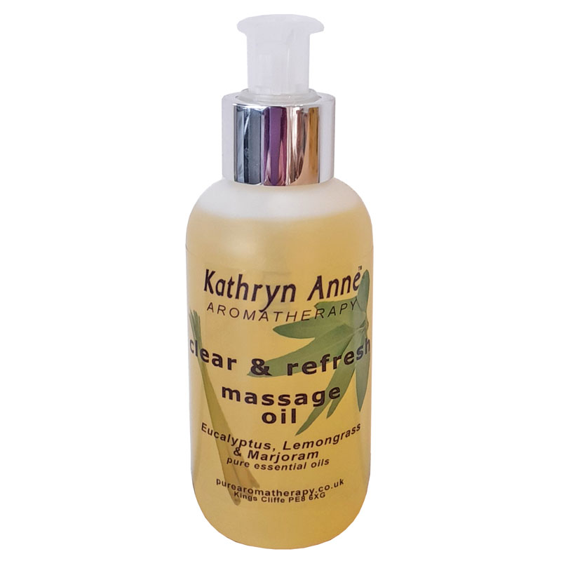 Clear & Refresh Massage Oil