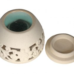Fair Trade Ceramic Floral Burner 2