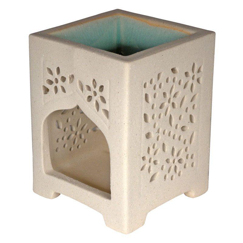 Fair Trade Ceramic Square Arch Burner