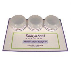 Hand Cream Samples