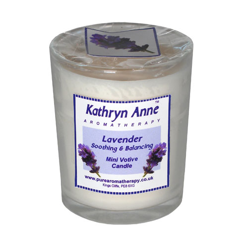 Lavender 20hr Mini Votive Aromatherapy Candle