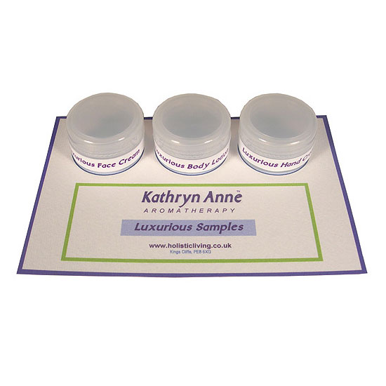 Luxurious Skin Care Samples
