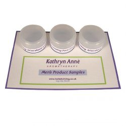 Mens Skin Care Product Samples