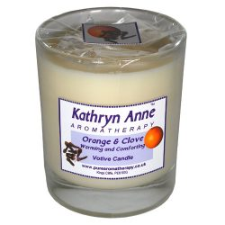 Orange & Clove 40hr Votive Aromatherapy Candle