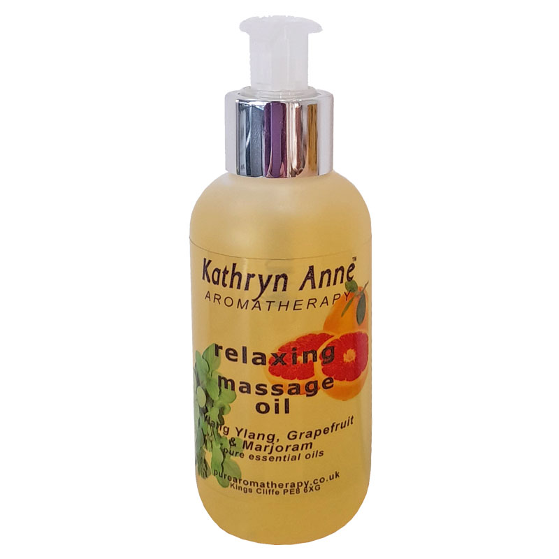 Relaxing Massage Oil