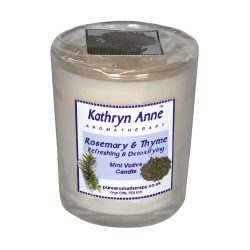 Rosemary & Thyme Mini Votive Candle