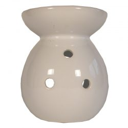 Elegant Round Ceramic Oil Burner