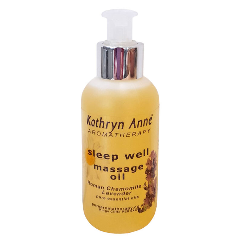 Sleep Well Massage Oil