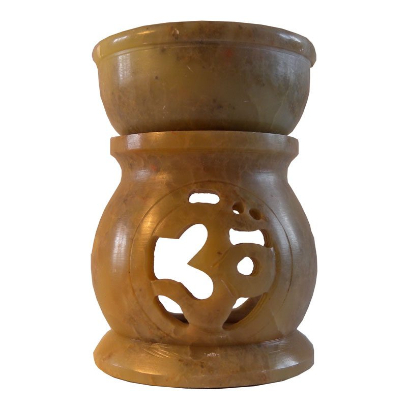 Small Soapstone Random Shapes Oil Burner