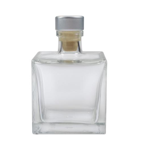 Clear Glass Square Reed Diffuser Bottle