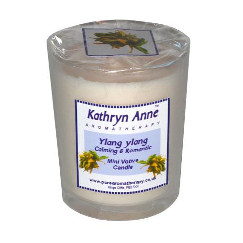 Ylang Ylang 20hr Mini Votive Aromatherapy Candle